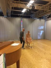 Repetitie met Ide van Heiningen - Studio MAPA